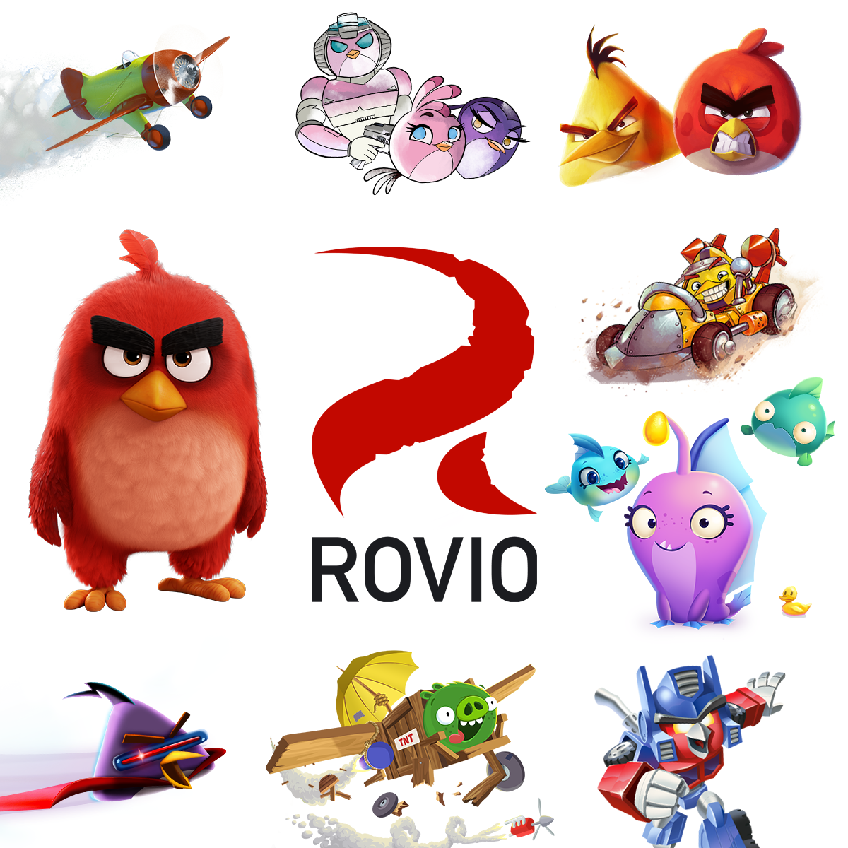 Angry Birds From Rovio Game-Consultant.com